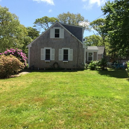 Chatham Cape Cod vacation rental - Side yard for Badminton, Bocce, Frisbee, and more.