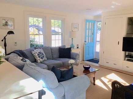 Chatham Cape Cod vacation rental - Open concept with WiFi, SMART TV, A/C, Gas Stove, slider to patio