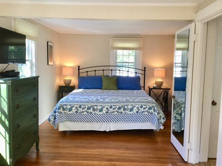 Chatham Cape Cod vacation rental - 1st Floor Master, King Bed, SMART TV, Window A/C, room for crib