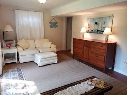 North Chatham Cape Cod vacation rental - Bright and sunny, very dry, lower level living space w/ac