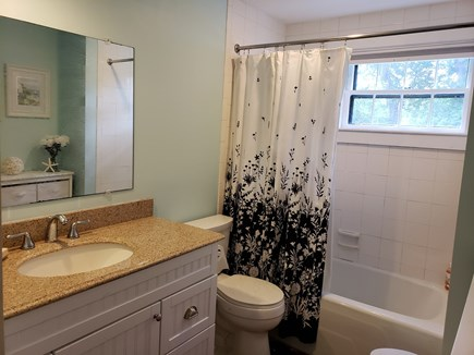 North Chatham Cape Cod vacation rental - Granite counter top lower level full bathroom