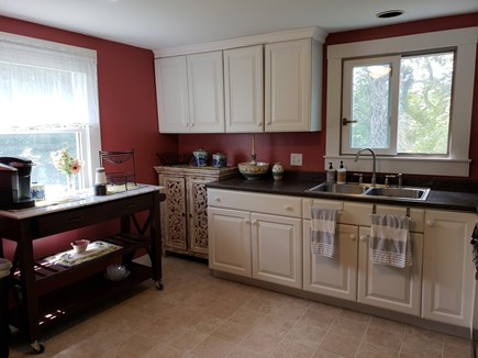 North Chatham Cape Cod vacation rental - Fully equipped kitchen w/ coffee bar