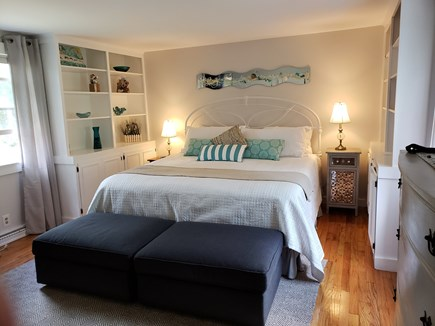 North Chatham Cape Cod vacation rental - Lovely, bright king size master w/ double closets & dressers