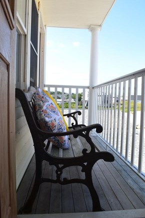 Plymouth, White Horse Beach MA vacation rental - Second floor balcony with ocean views