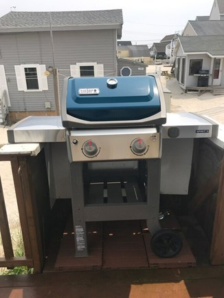Plymouth, White Horse Beach MA vacation rental - Weber grill, supplied with propane