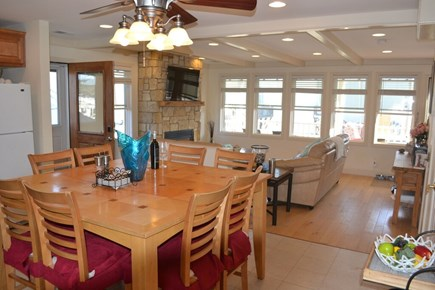 Plymouth, White Horse Beach MA vacation rental - 8 person dining, open floorplan, and views!