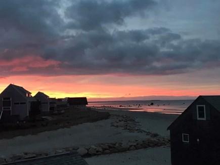 Plymouth, White Horse Beach MA vacation rental - Balcony sunsets