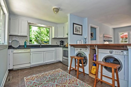 Orleans Cape Cod vacation rental - Stocked Kitchen with Washer & Dryer