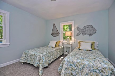 Orleans Cape Cod vacation rental - Twin Bedroom with closet and dresser