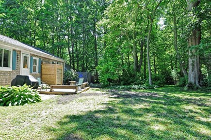 Orleans Cape Cod vacation rental - Private, Shaded and Quiet Yard with Small Weber Grill