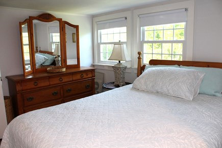 In The Heart of Brewster Cape Cod vacation rental - 2nd floor bedroom with a queen bed.