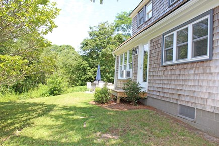 In The Heart of Brewster Cape Cod vacation rental - The front yard.