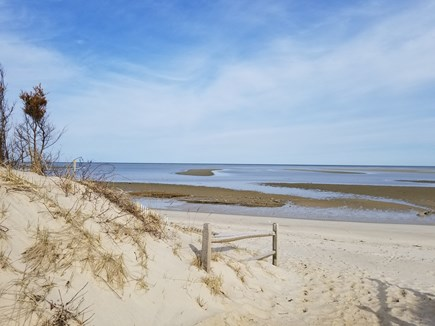 In The Heart of Brewster Cape Cod vacation rental - Beautiful bay beach 8/10 of a mile from your vacation rental.