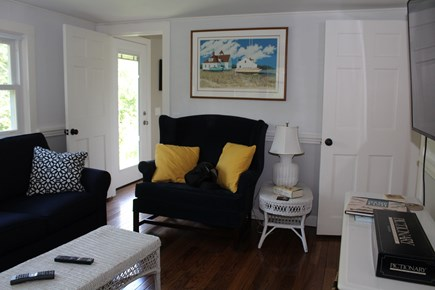 In The Heart of Brewster Cape Cod vacation rental - More seating in this comfortable family room.
