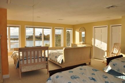 West Hyannisport Cape Cod vacation rental - 3rd floor bedroom -one queen & 4 twin beds. Bathroom with shower