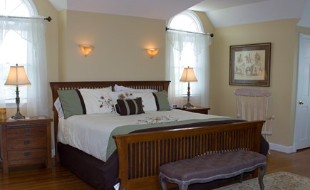 West Hyannisport Cape Cod vacation rental - Master bedroom has a private deck