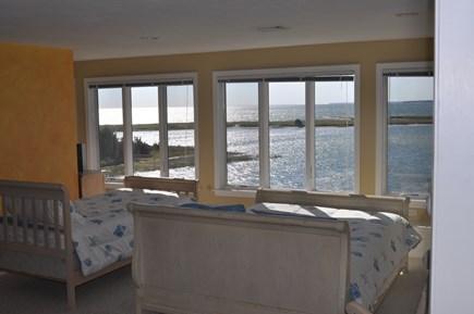 West Hyannisport Cape Cod vacation rental - 3rd floor bedroom - 1 queen & 4 twin beds. Bathroom with shower