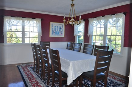 West Hyannisport Cape Cod vacation rental - Formal dining room