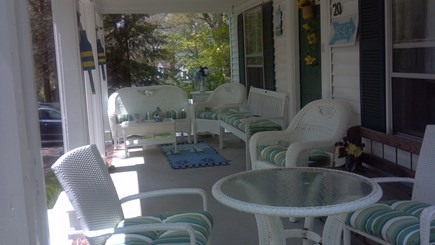 Plymouth MA vacation rental - Summer Farmers Porch - Long picture