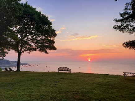 Plymouth MA vacation rental - Early Birds can count on amazing sunrises