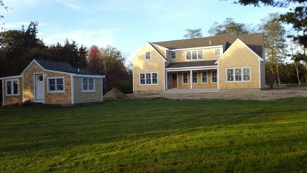 Yarmouthport Cape Cod vacation rental - Private yard on 2 acres, guest cottage included May-Oct