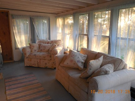 Yarmouthport Cape Cod vacation rental - Sitting area guest cottage