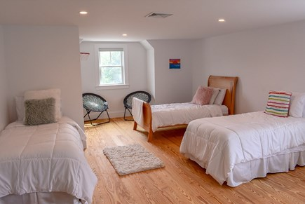 Yarmouthport Cape Cod vacation rental - Kids room has 4 twin beds plus one trundle