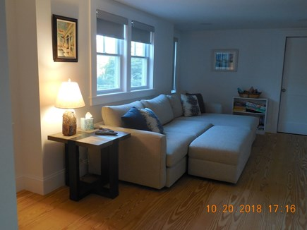 Yarmouthport Cape Cod vacation rental - Media room - 65 inch TV cable/surround sound