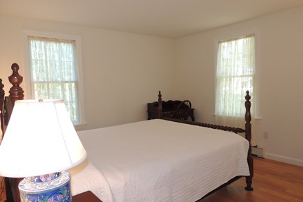 Harwich Port Cape Cod vacation rental - First floor bedroom with queen size bed