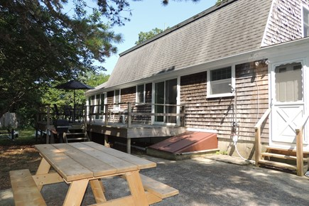 Harwich Port Cape Cod vacation rental - Large deck & patio area