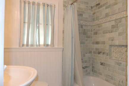 Harwich Port Cape Cod vacation rental - New first floor tiled tub & shower
