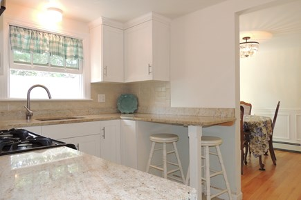 Harwich Port Cape Cod vacation rental - Light & bright kitchen leads to the dining room