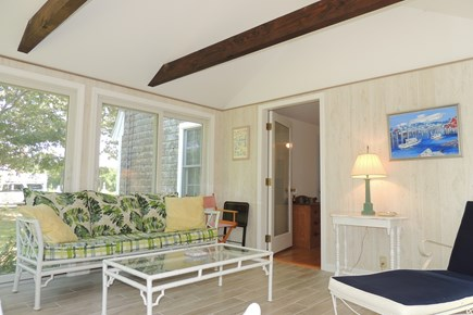 Harwich Port Cape Cod vacation rental - Comfortable sun room