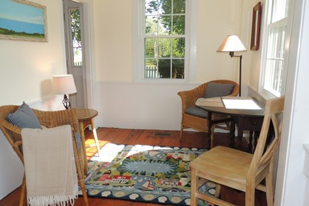 Harwich Port Cape Cod vacation rental - Cozy sitting room