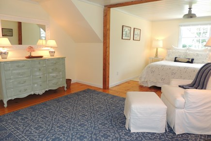 Harwich Port Cape Cod vacation rental - First floor master bedroom en suite with queen size bed