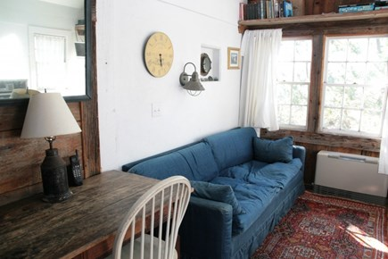 North Truro Cape Cod vacation rental - Shack sitting area