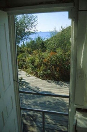 North Truro Cape Cod vacation rental - Private walkway to beach.