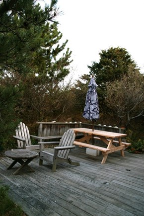North Truro Cape Cod vacation rental - Spacious deck