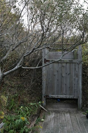 North Truro Cape Cod vacation rental - Outdoor shower