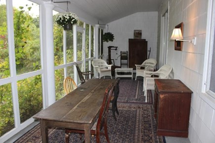 Dennis Cape Cod vacation rental - Enclosed porch