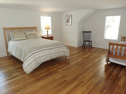 Chatham Cape Cod vacation rental - Second Floor Queen Bed with Trundle (two twins) and Bathroom.