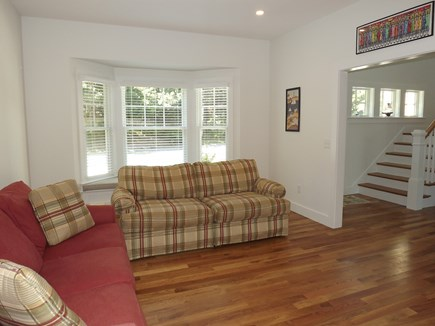 Chatham Cape Cod vacation rental - First Floor Den with TV.
