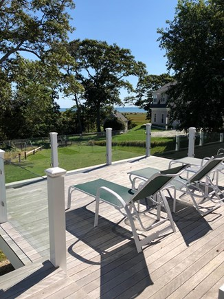 Chatham Cape Cod vacation rental - Lower Deck With Views of Salt Marsh and Nantucket Sound Beyond.