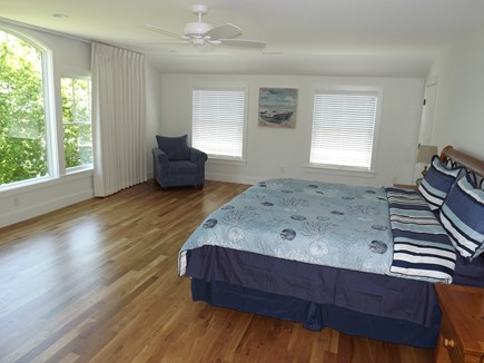 Chatham Cape Cod vacation rental - Second Floor King with Master Bath, View and Walk-In Closet.