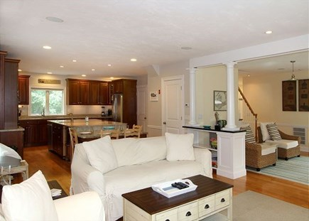 Truro Cape Cod vacation rental - Open Concept Living room