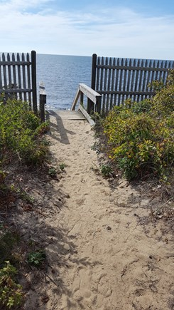 Dennis Port Cape Cod vacation rental - Path to Private Beach