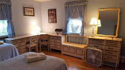 Dennis Port Cape Cod vacation rental - First Floor bedroom with 2 Twin beds