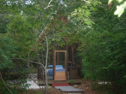 Chatham Cape Cod vacation rental - Outdoor screened in sleeping porch