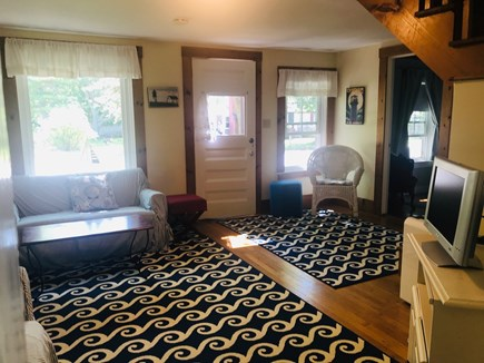 Harwich Port Cape Cod vacation rental - Family Room with additional seating