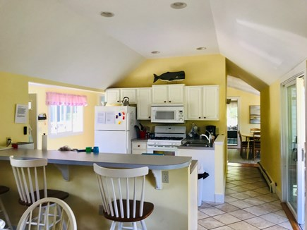 Harwich Port Cape Cod vacation rental - Fully Equipped Kitchen with Breakfast Bar  and Table and Chairs